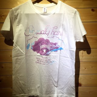 SpecialThanks / heavenly T-shirts (White)