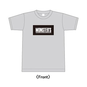 The Monsters Club /  Box LOGO (Gray)