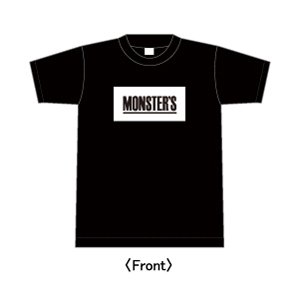 The Monsters Club /  Box LOGO (Black)