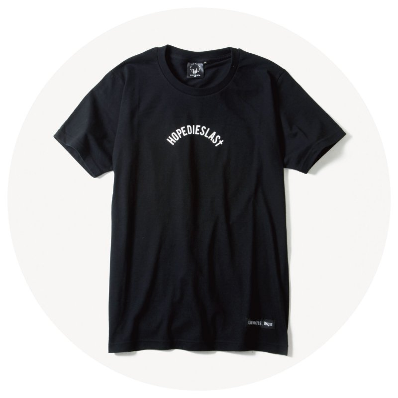 LILWHITE. / -LILARCH- Tee (BLK)