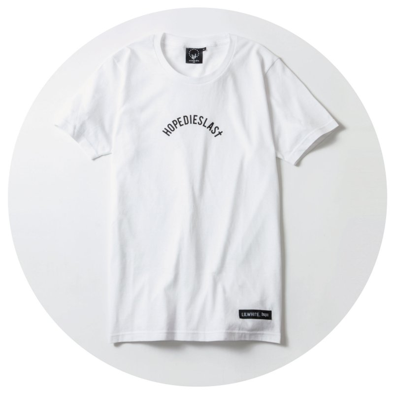 LILWHITE. / -LILARCH- Tee (WHT)