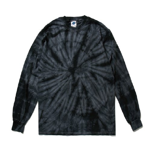 COLORTONE/ Rainbow & Spider Long Sleeve Tee(Spider Black)