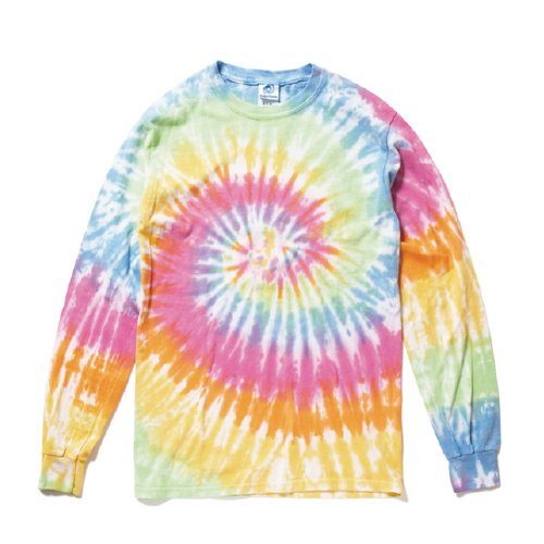 COLORTONE/ Rainbow & Spider Long Sleeve Tee(eternity)