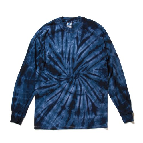 COLORTONE/ Rainbow & Spider Long Sleeve Tee(Spider navy )
