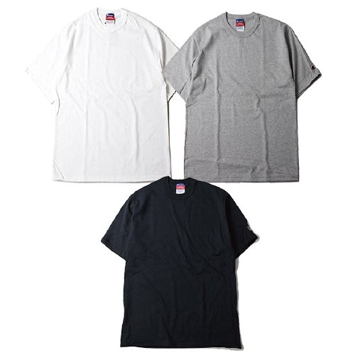 CHAMPION / CHMP-T2102 7oz ヘリテージジャージーTシャツ(Black,Gray,White)