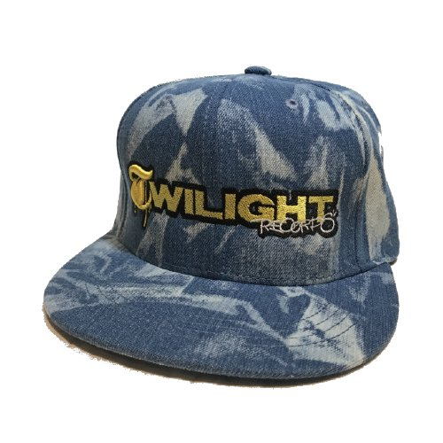 TWILIGHT RECORDS / TWILIGHT CAP(B,BLUE/GOLD)