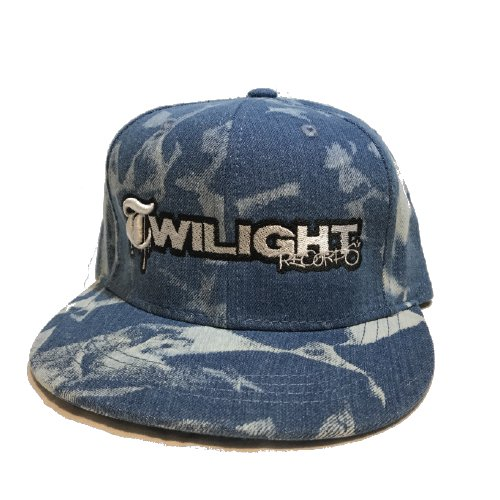 TWILIGHT RECORDS / TWILIGHT CAP(B,BLUE/SILVER)
