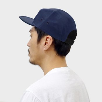 OTTO  H1098 CAMP STYLE 5 PANEL CAP  (NAVY9)