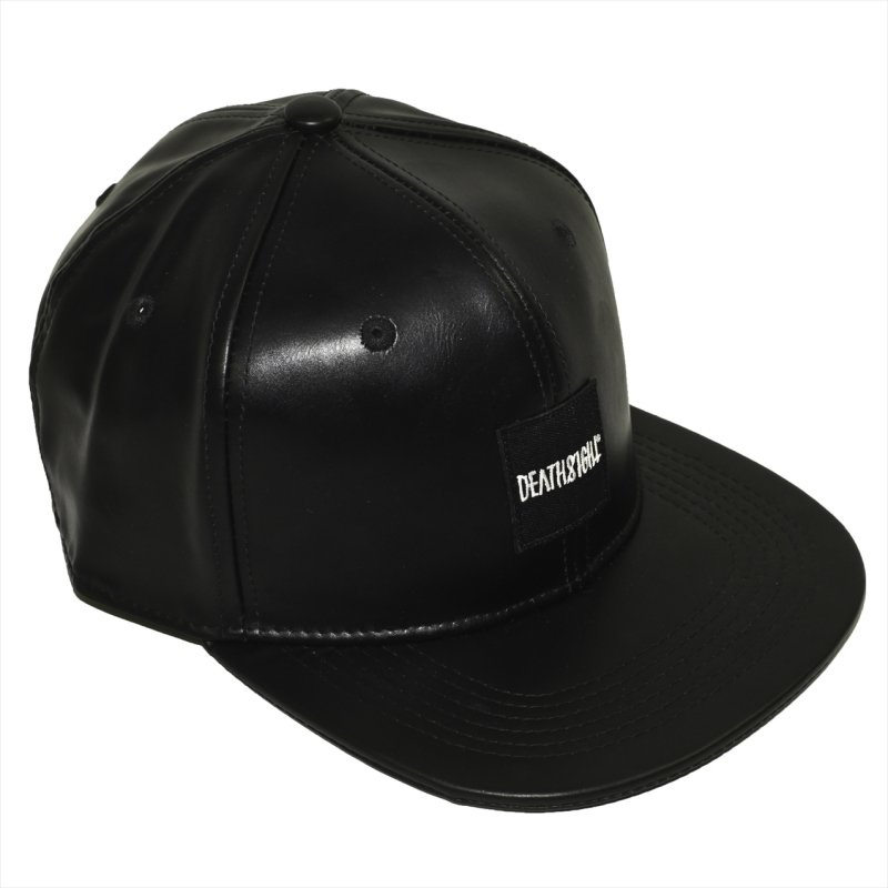 DEATHSIGHT  / BOX LOGO CAP (LEATHER)