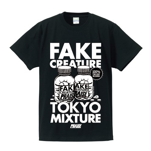 PRAISE /  FAKE CREATURE Tee(Black)