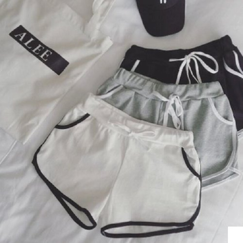 SELECT W's Shorts Pants(Black,White,Gray)
