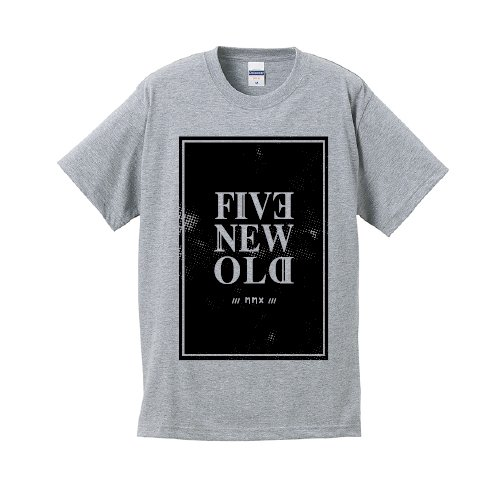 FIVE NEW OLD / MMX T-Shirt(Gray)