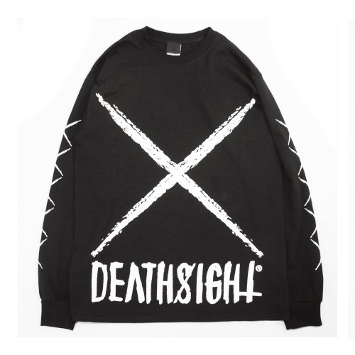 DEATHSIGHT  / xxx L/S TEES BLACK