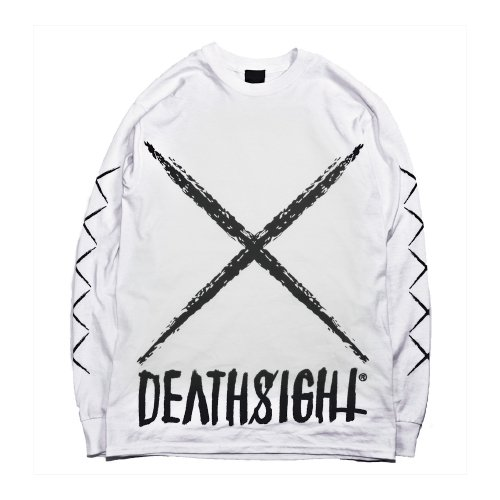 DEATHSIGHT  / xxx L/S TEES WHITE