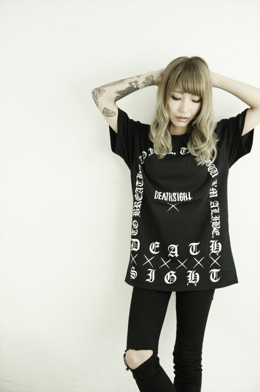 DEATHSIGHT  / GRAVE TEES / BLACK