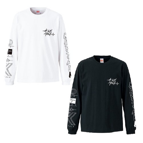 KEYTALK / LONG SLEEVE T-SHIRT(BLACK/WHITE)