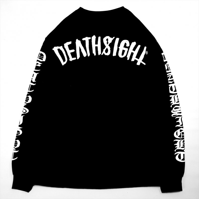 DEATHSIGHT / 17S L/S TEES BLACK