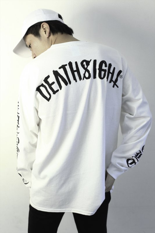DEATHSIGHT / 17S L/S TEES WHITE