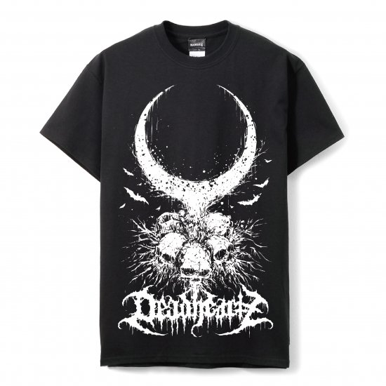DEADHEARTZ / Roots TEES / BLACK