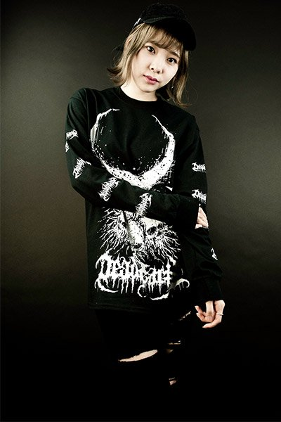 DEADHEARTZ Roots L/S Tees BLACK