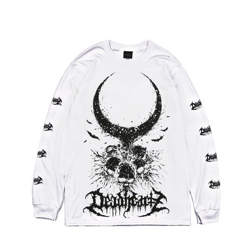 DEADHEARTZ Roots L/S Tees WHITE