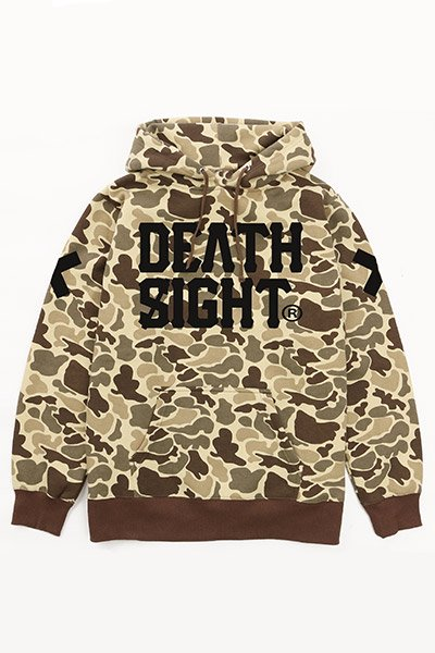 【予約商品】 DEATHSIGHT/ 17 Hoodie DUCK HUNTER