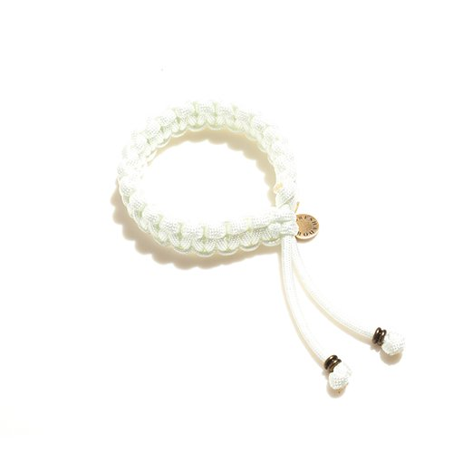 FORESHADOW / CODE BRACELET (WHITE)