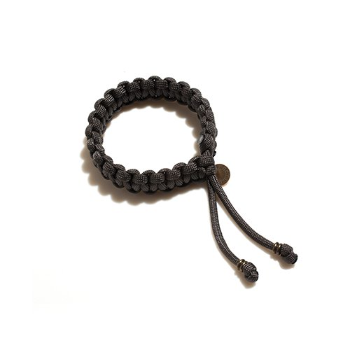 FORESHADOW / CODE BRACELET (CHARCOAL)