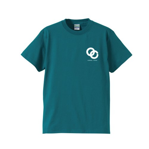 SIGNAL CODE /  Icon T-shirts(Bitter Green)