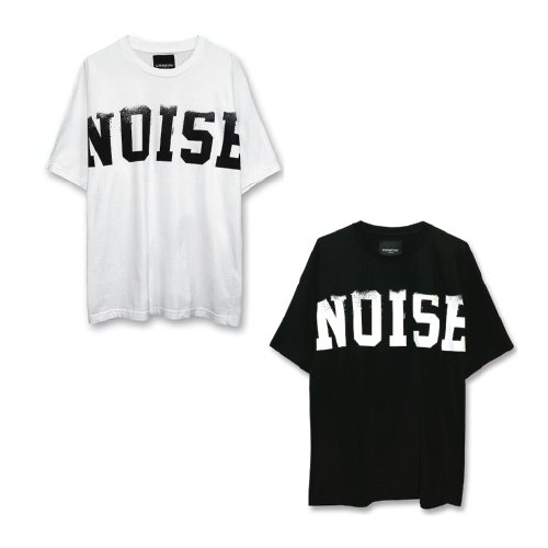 CHAOTIC / NOISE BIG T/S(WHITE/BLACK)