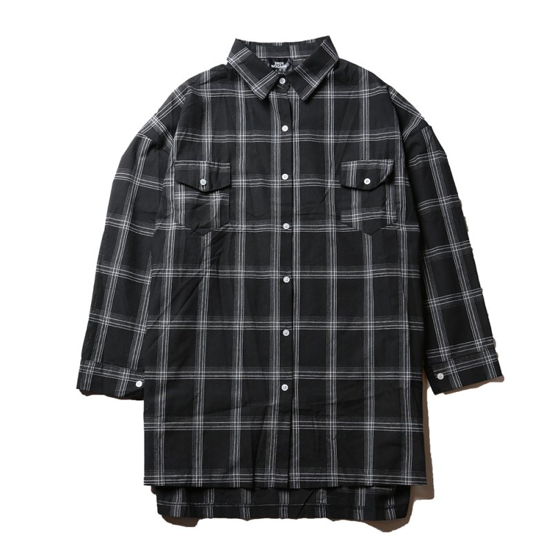 FORESHADOW /  Check L/S Shirts