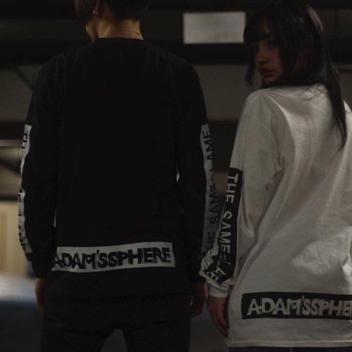 Adam's Sphere /  L/S T-shirts(Black)