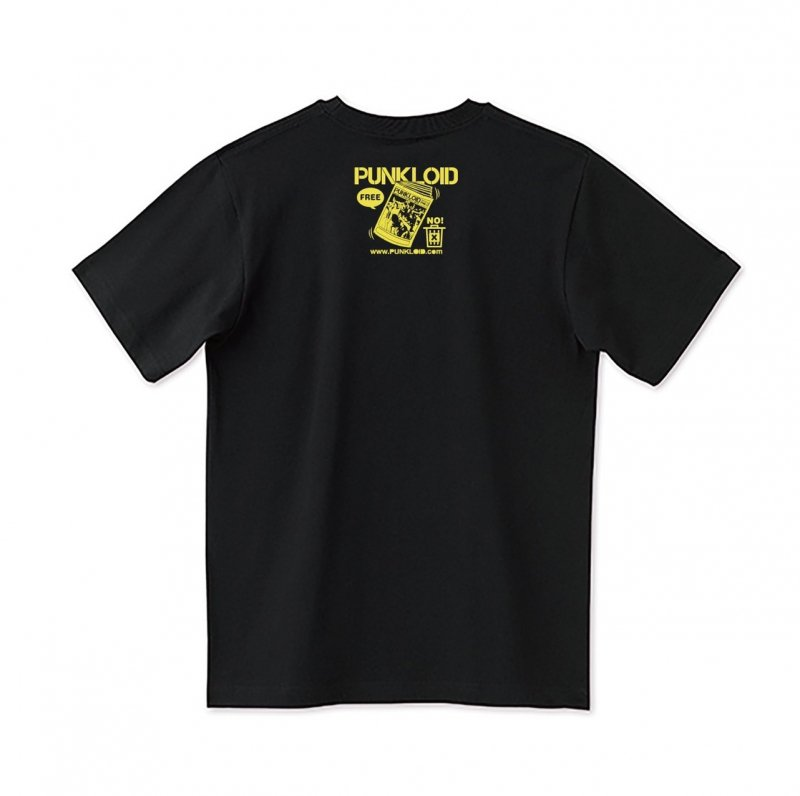 PUNKLOID / LOID Tee(BLACK × YELLOW)ラバーバンド付