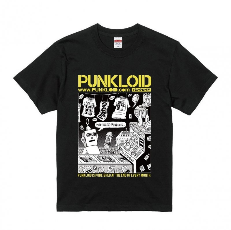 PUNKLOID / LOID Tee(BLACK × YELLOW)