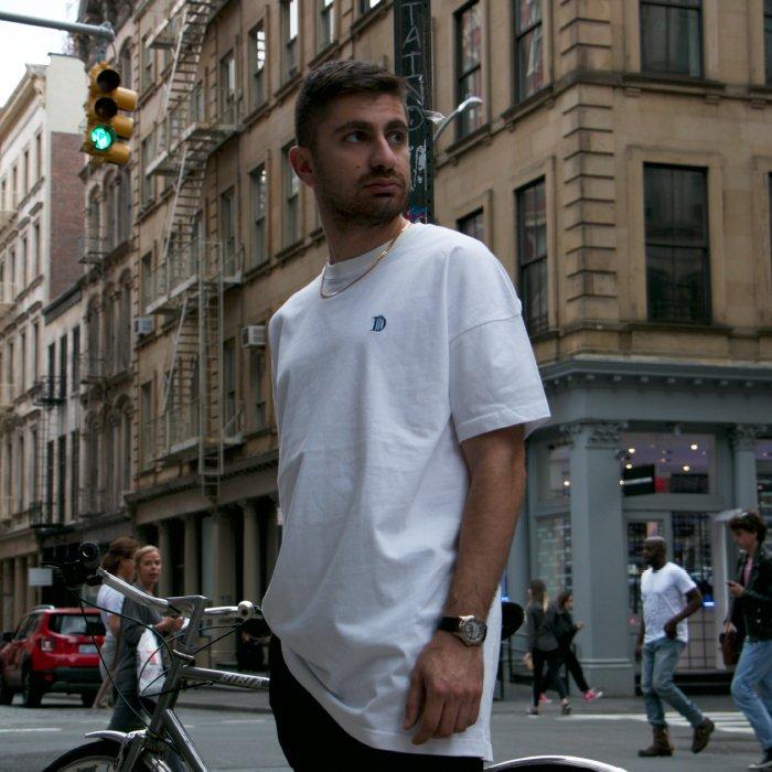 SALE Deviluse / D Long Length T-shirts(Black/White)