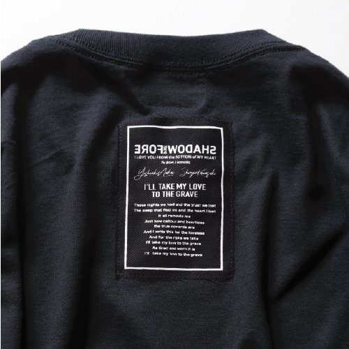 FORESHADOW /  L/S Logo Patch T-Shirts