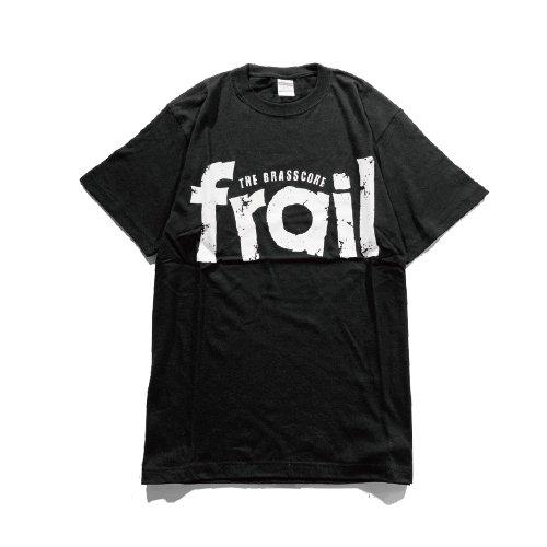 frail / LOGO  T-shirts(Black)