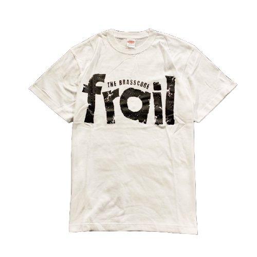 frail / LOGO  T-shirts(White)