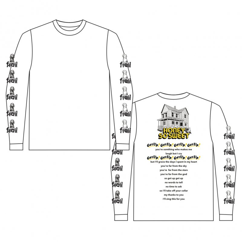 frail /  HONEY SO SWEET Long Sleeve Tee