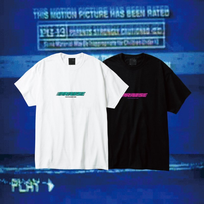 PRAISE / 2019 Logo T-shirts (Black/White)