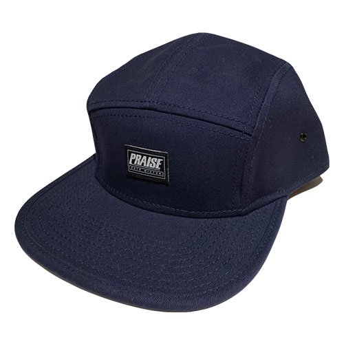 PRAISE / LOGO PATCH CAP (NAVY/BLACK)