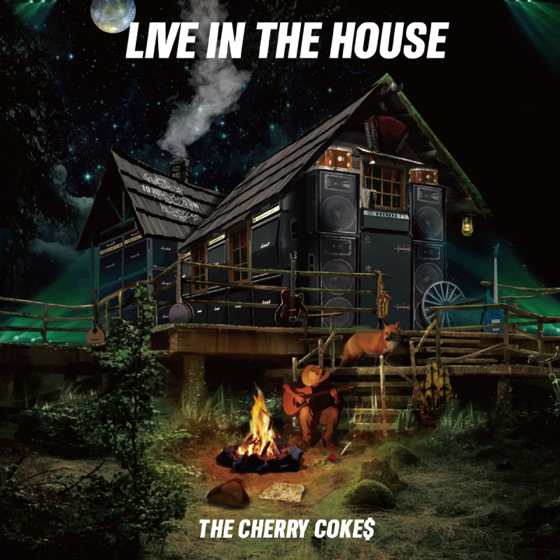 THE CHERRY COKE$ / LIVE IN THE HOUSE CD