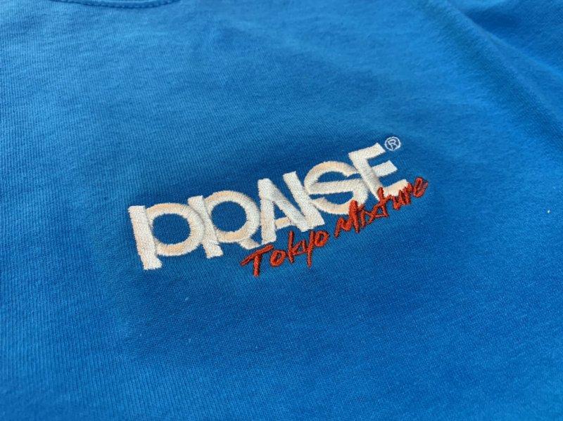 PRAISE / Stetch Logo Tee (Black/Ash/Sand/Blue/Yellow)