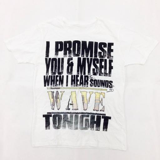 ALPHASE / My Only Hope Is You Tシャツ(white)