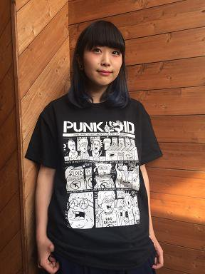 PUNKLOID / COMIC Tee (BLACK x WHITE)