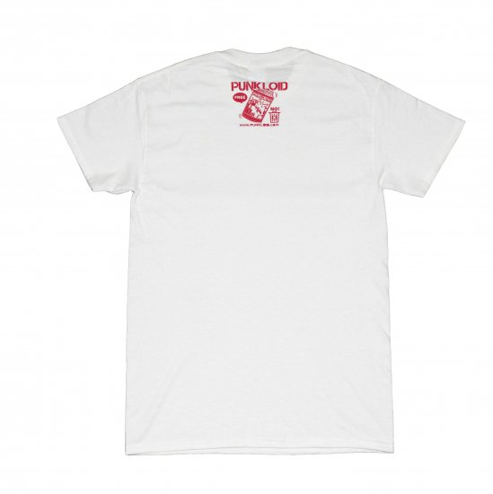 PUNKLOID / COMIC Tee (WHITE X RED)