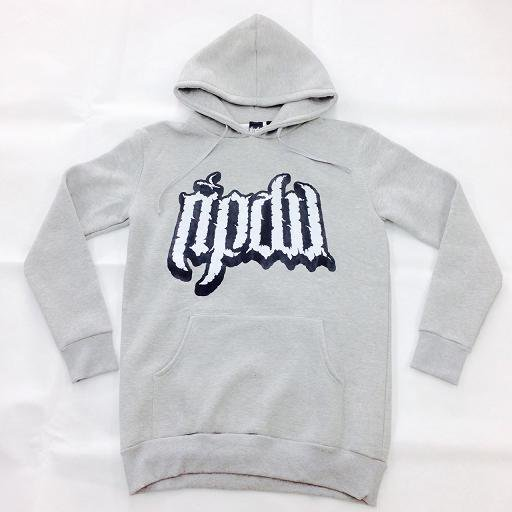 RIP DESIGN WORXX / Long Pullover Hooded (Gray)