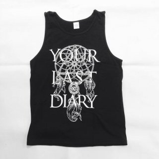 YOUR LAST DIARY / NEW Logo TankTop (Black)
