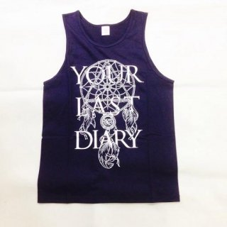 YOUR LAST DIARY / NEW Logo TankTop (Navy)