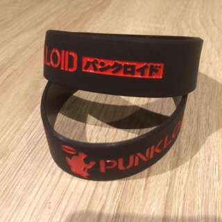 PUNKLOID  / RUBBER BAND (BLACK×RED)